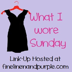What I Wore Sunday