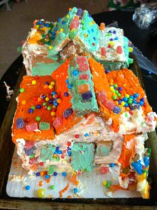 Both of our Gingerbread Houses