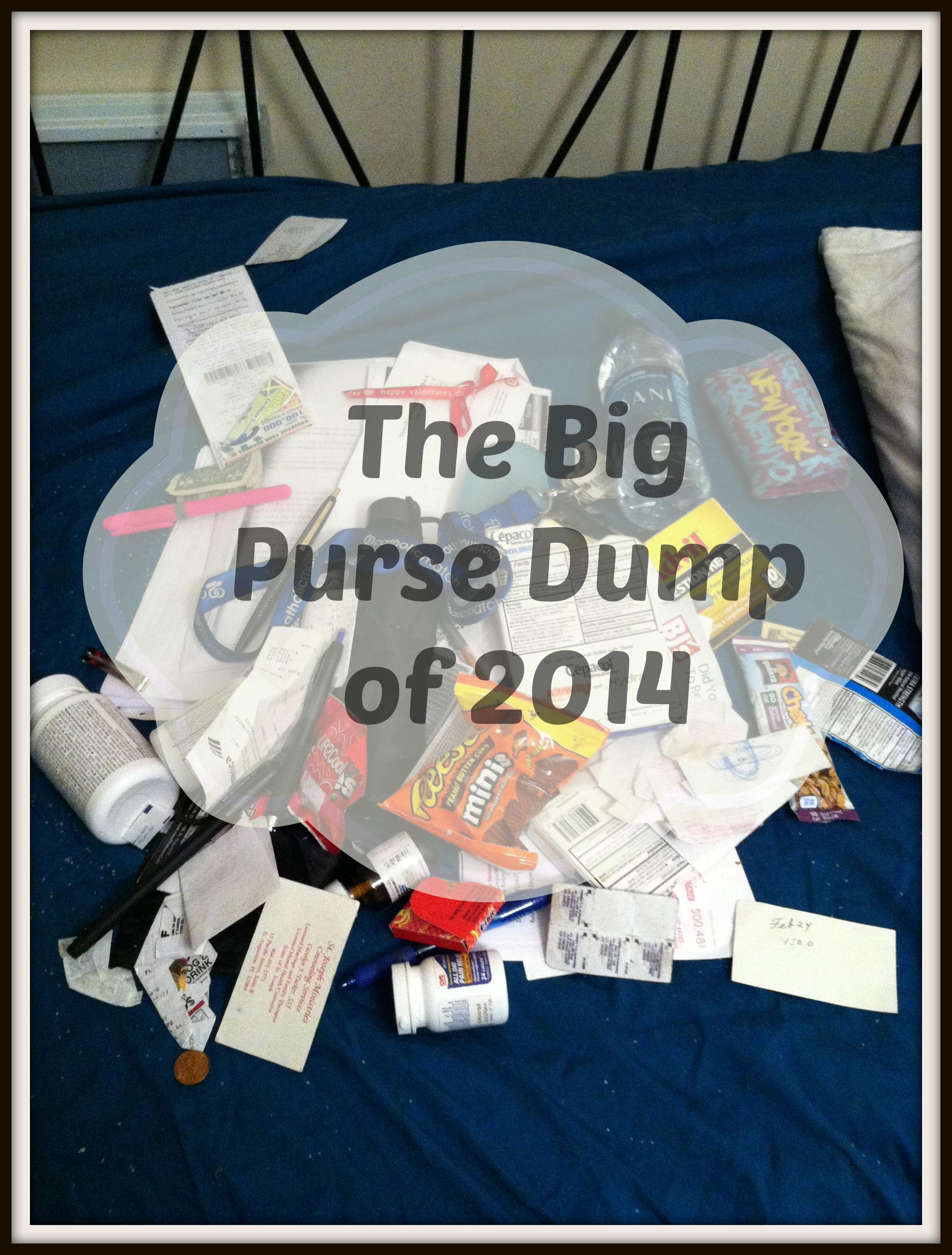 Purse Dump Post