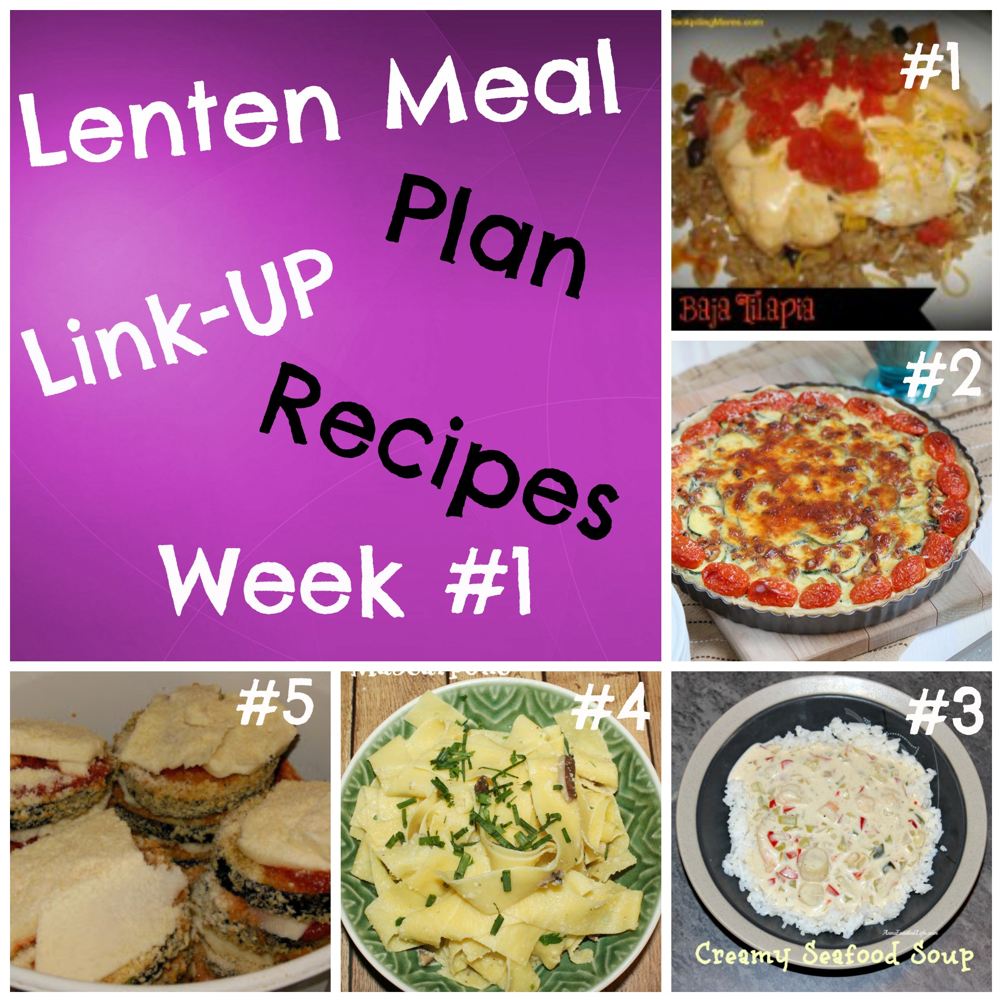2014 lenten meal plan link up week 1 lent recipes from stock piling moms this is a great collection of recipes great for lent forumfinder Gallery