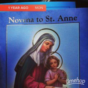 St Anne Novena