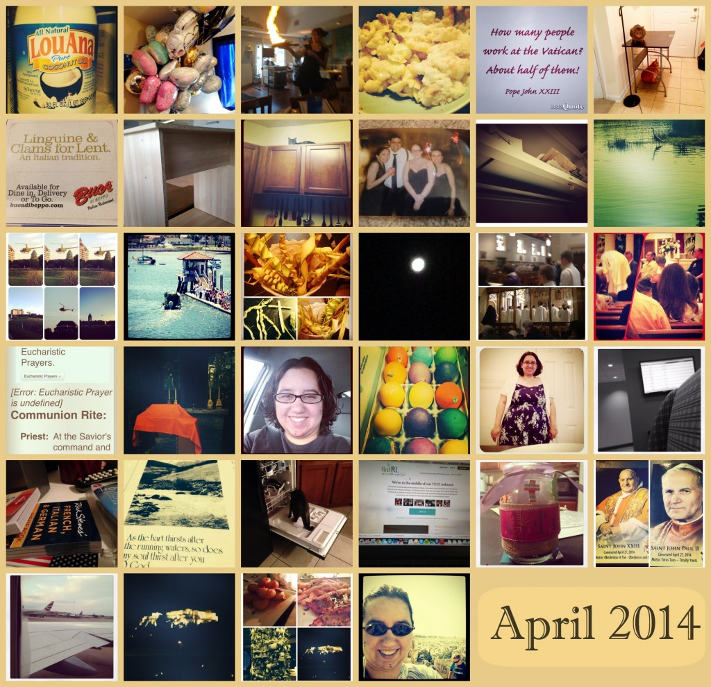 April Collage
