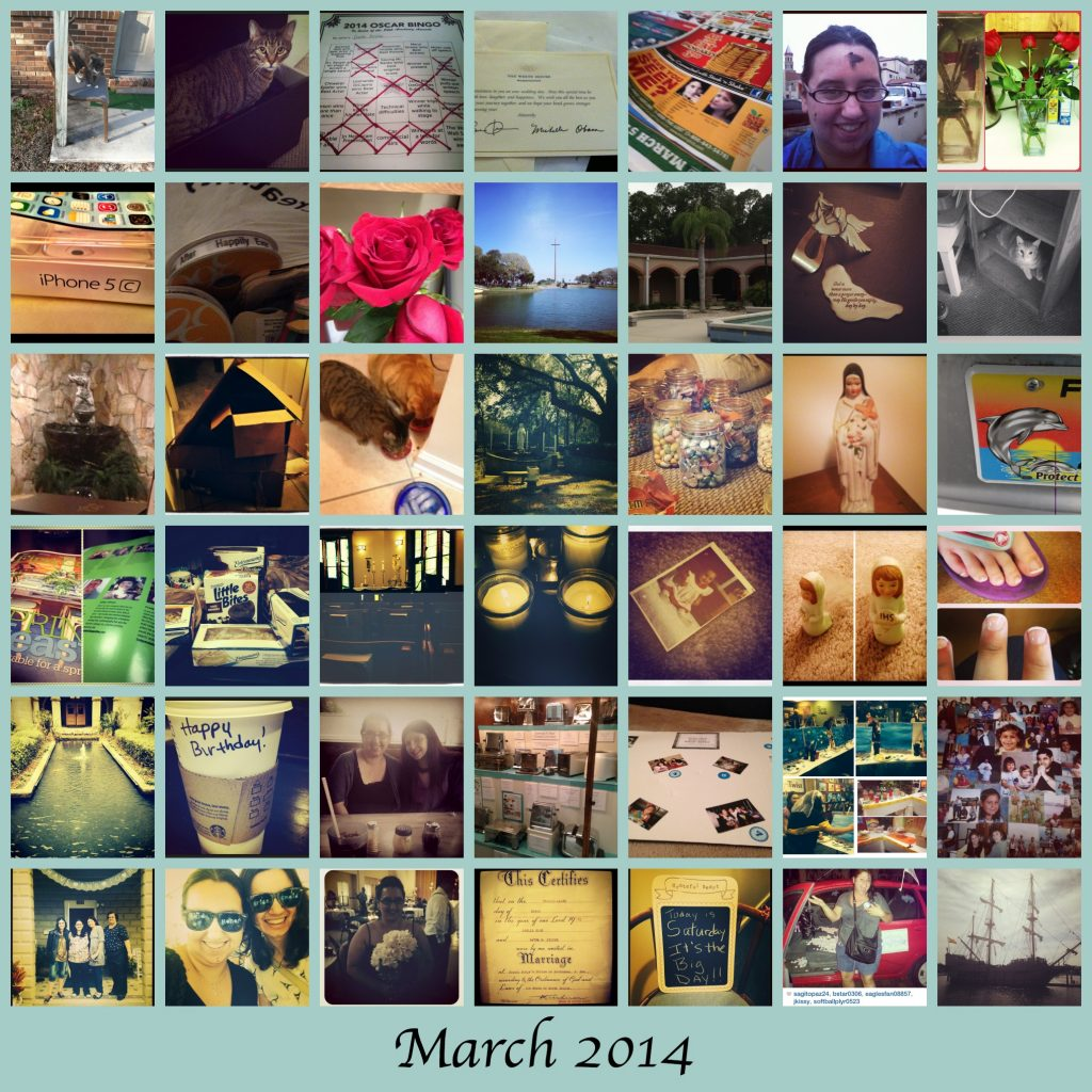 March Collage