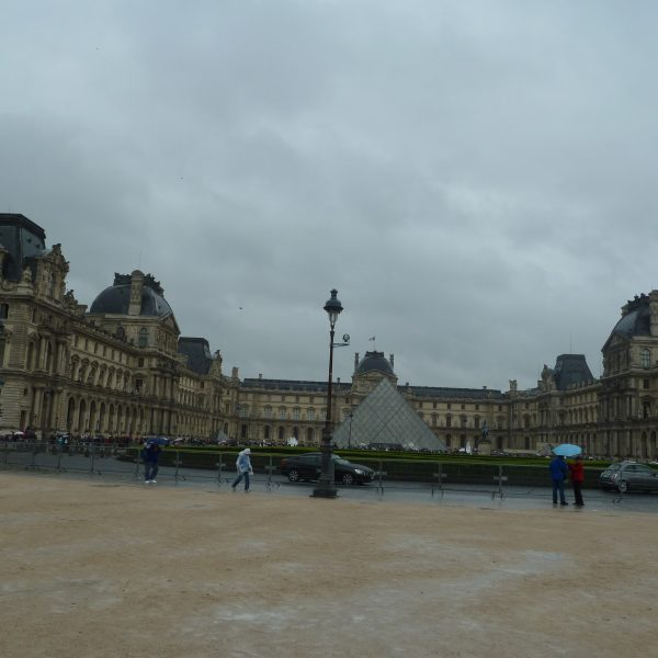 The Famous Louvre Museum
