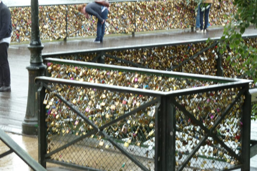The Paris Love Bridge