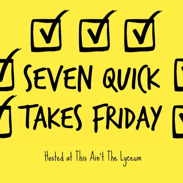 7 Quick Takes Friday {Volume 132}