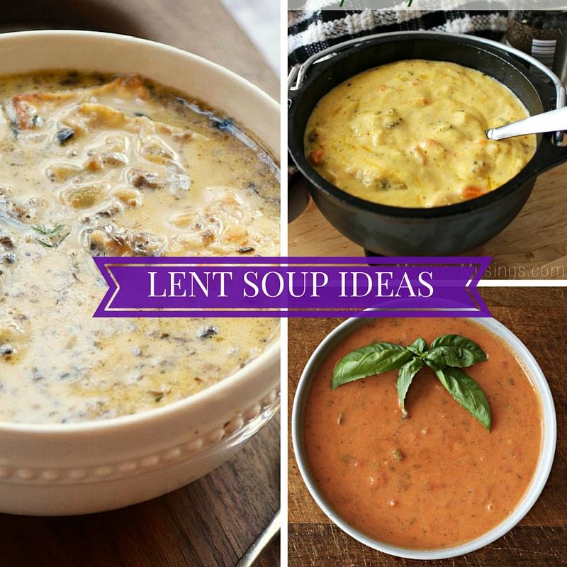 Lent Soups