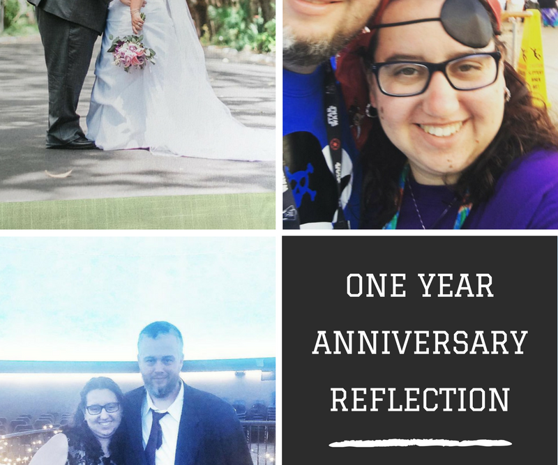 One Year of Marriage Reflection