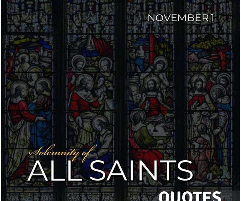 All Saints Day Quotes