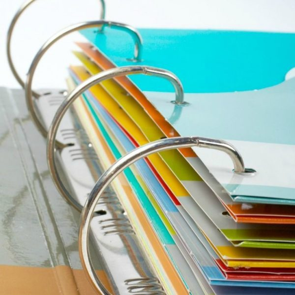 Easy Binder Organization for Bills & Mail